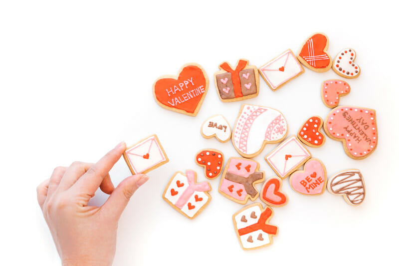 カラフルなクッキーを追加