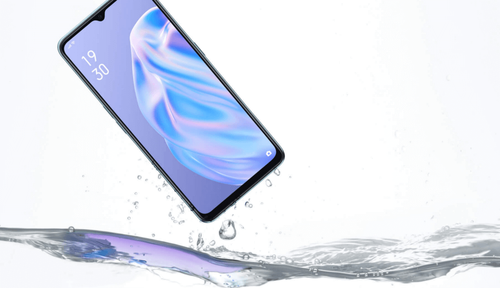 OPPO Reno3 AはIP68の防水規格に対応