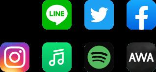 SNS音楽データフリー